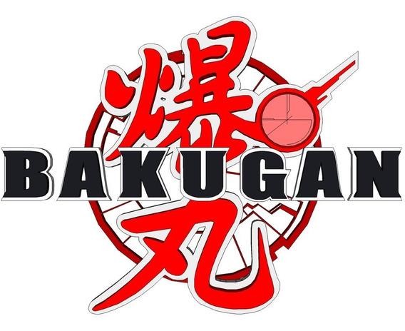 Bakugan * 17 Figuras + 01 Porta Bakugan + 09 Tarjetas*