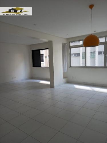 Apartamento A Venda No Bairro Cerqueira César Em São Paulo - Ap170-1