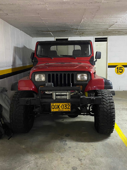 Jeep Wrangler Campero
