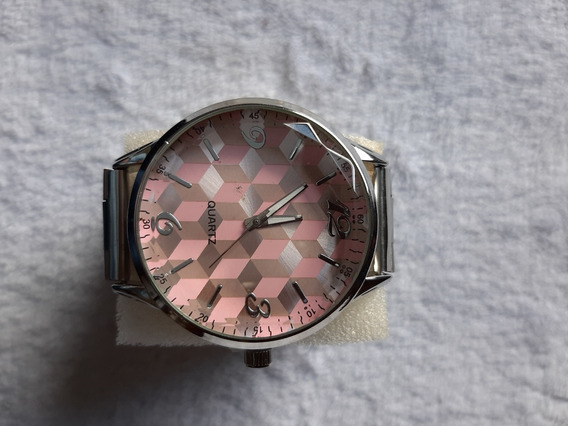 Relógio Quartz Feminino Redondo
