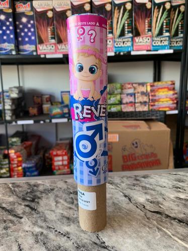Imagem 1 de 1 de Fumaçao Para Cha Revelaçao Azul Ou Rosa