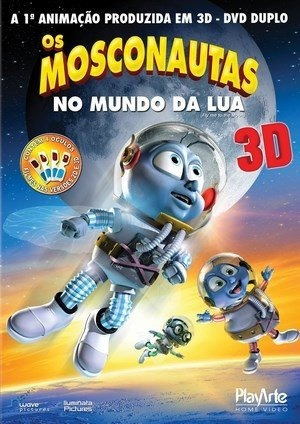 Mosconautas Mundo Lua 2d/3d P/ Tv Comum (2 Discos) Lacrado