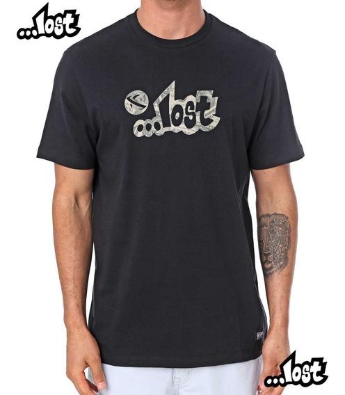 Camiseta Lost Dolar 22022824 Original Masculina Verão 20