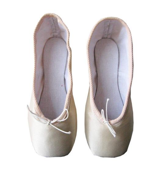 Zapatilla Punta Profesional Angosta Para Ballet - Clasico