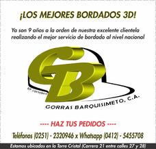 Gorras Barquisimeto C A | Bordados 3d Personalizados