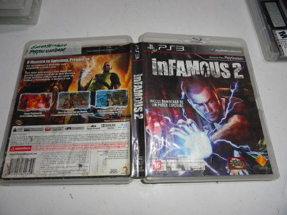 Infamous 2 Ps3 Midia Fisica Original Brasil