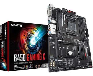 Motherboard Gigabyte B450 Gaming X Rgb Ryzen Am4 Tranza