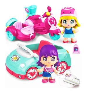 Pinypon Auto O Moto Figura Mix Is Max New Cod 15652 Bigshop