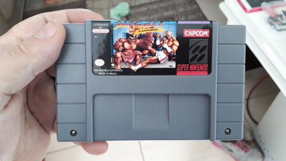 Street Fighter 2 Turbo, Cartucho Novo Retro X Eletronics