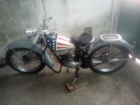 Harley Davidson 1958 2 Tiempos 165 C.c.