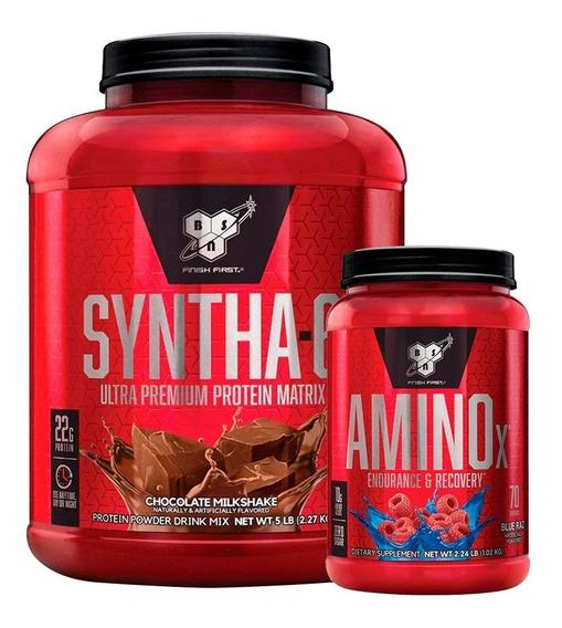 Syntha 6 5lb + Amino X 2,23lb Bsn