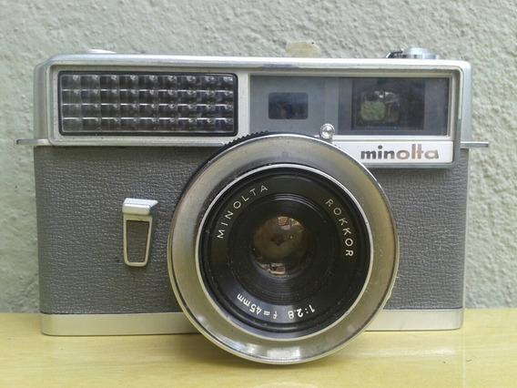 Camera Fotografica Minolta Hi Matic Rare1962 Vintaje Minolta