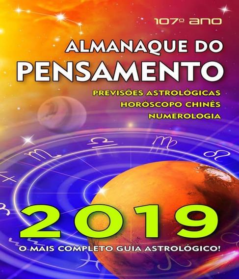 Almanaque Do Pensamento - 2019