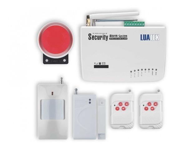 Kit Alarme Residencial Wireless Luatek Lka-211