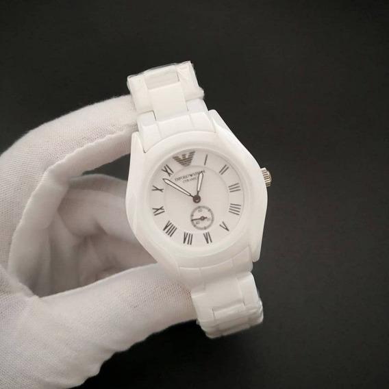 Relógio Armani Cerâmica Luxo