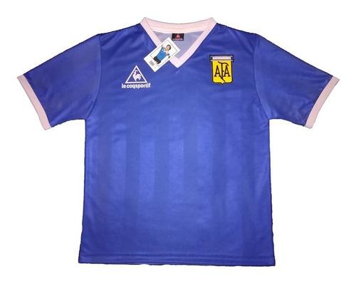 Jersey Argentina Retro Mx86 Visita Maradona Mano De Dios!!