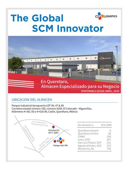 Nueva Bodega, Parque Industrial, Colón, Querétaro