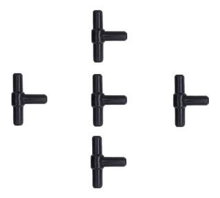 Conector En T De 2x2cm Para Peceras X 10 Unid Blanco
