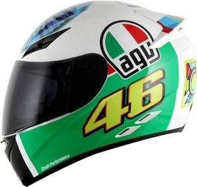 Capacete Agv K3 The Eye Valentino Rossi