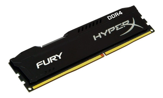 Memoria Gamer Com Dissipador Ddr4 8g 2666 Kingston Hiperx Fury