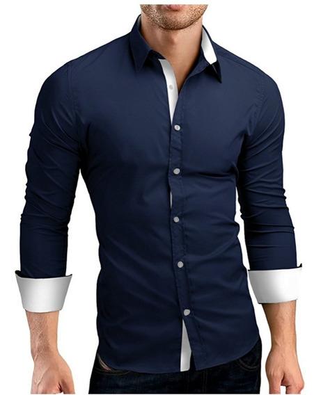 Camisa Social Slim Fit Urban - 4 Cores - Qualidade Incrível