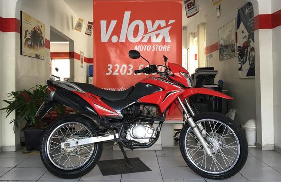 Honda Nxr 150 Bros Esd Vermelha 2013