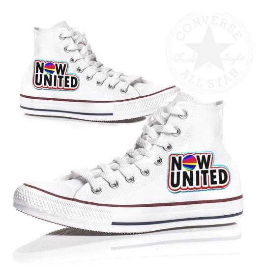 Tênis Now United Special All Star Converse Feminino Botinha