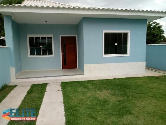 Casa Para Venda Em Saquarema, Bacaxá, 2 Dormitórios, 1 Suíte, 2 Banheiros - E288