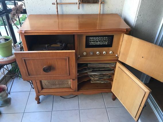 Radio Vitrola Antiga - Perfeito Estado