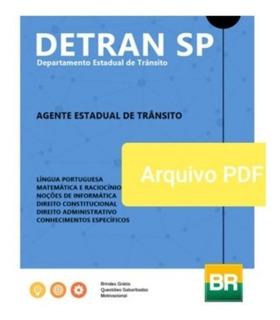 Apostila Detran Sp 2019 Agente Estadual De Trânsito