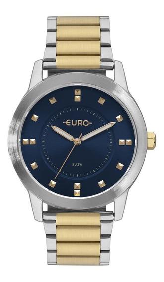 Relógio Euro Feminino Prata/dourado Eu2039jo/5a