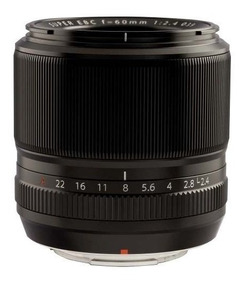 Lente Fujifilm Xf 60mm F2.4 R Macro - Garantia + Nf