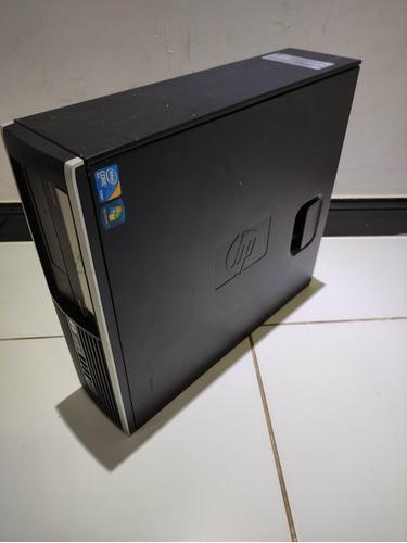 Imagem 1 de 5 de Cpu Desktop Hp Compaq 6000 Core2duo 8gb Ram 500gb Hd Blueray