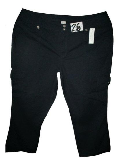 Pantalon Jeans Azul Marino Casual Talla 26w (46w Mx) Venezia