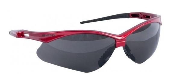 Óculos Segurança Esportivo Nemesis Vermelho Proteção Uv/ Ca