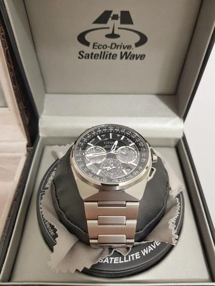 Relógio Citizen Satelitte Wave F900 45mm Caixa Único No Ml