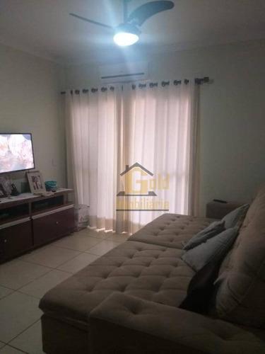Apartamento Com 2 Dormitórios À Venda, 72 M² Por R$ 307.000 - Jardim Botânico - Ribeirão Preto/sp - Ap2814