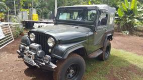 Jeep Willys Cj-5 1963 (ap, Dir. Hidráulica, Freio A Disco)