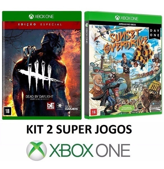Dead By Daylight + Sunset Overdrive - Midia Fisica Xbox One