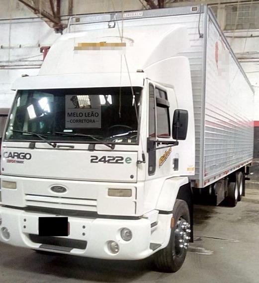 Cargo 2422 - 09/09 - Truck, Baú De Aluminio, Todo Revisado