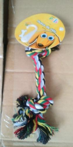 Imagen 1 de 1 de Fancy Pets Hueso De Hilo Multicolor 20 Cm Perro Cachorro Entretenimiento Ejercicio Diversion Entrenamiento