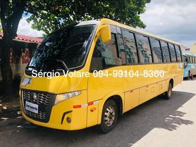 Micro Ônibus Volare W9 Fly Executivo Amarela Ano 2014/14
