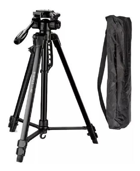 Tripé Camera Digital Profissional Com Nível 1.4 Mt - Stc260
