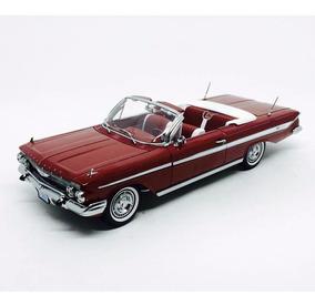 Miniatura Chevy Impala Open Conver 1961 1:18 Sun Star 3406
