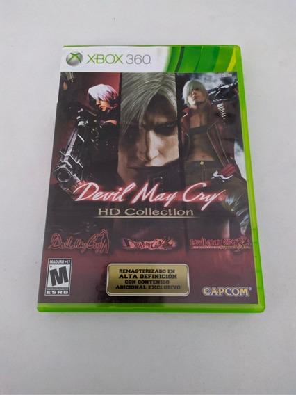 Jogo Devil May Cry Hd Collection Mídia Física Xbox 360