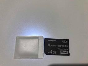 Cartao De Memória Sony Memora Stick Produo