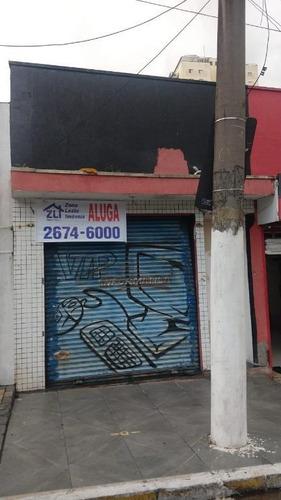 Salão Para Alugar, 120 M² Por R$ 3.000,00/mês - Tatuapé - São Paulo/sp - Sl0827