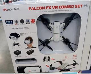 Dron Wondertech Combo Set Falcon Fx Vr
