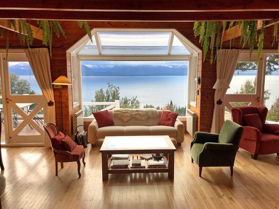 Casa De 3 Dormitorios Con Vista Panorámica Al Lago