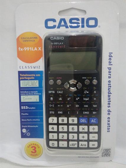 Calculadora Científica Casio Fx-991lax - Garantia 3 Anos